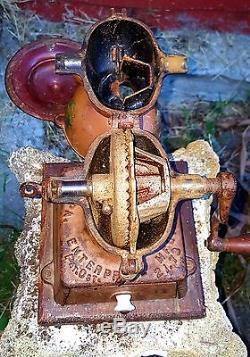 1873 philadelphia enterprise cast iron Coffee grinder