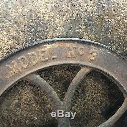 31340 Antique CS BELL #3 Coffee Grinder Mill CRANK WHEEL ONLY 19 DIAMETER