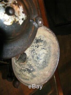 ANTIQUE ENTERPRISE No. 1 COFFEE GRINDER / COFFEE MILL Original Paint & Decals