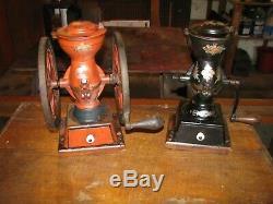 ANTIQUE ENTERPRISE No. 2 COFFEE GRINDER / COFFEE MILL Original Paint & Decals