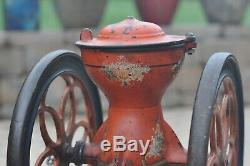 Antique 1875 CAST IRON Enterprise COFFEE GRINDER MILL No. 2 FOR PARTS