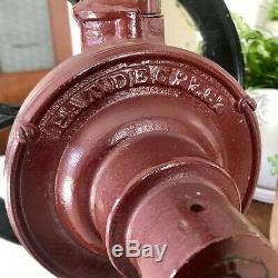 Antique 1880s Fairbanks Cast Iron COFFEE GRINDER Mill Number 7 MASSIVE 30 Tall