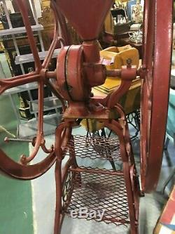 Antique 1885 General Store large Philadelphia Star Mill Coffee Grinder