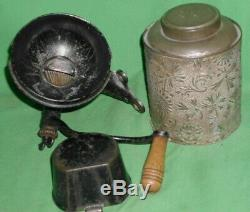 Antique 1890, 1894, Royal Coffee Grinder All Original, Correct Catch Cup, Nice