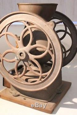 Antique 1898 Cast Iron ENTERPRISE No. 3 Coffee Grinder Mill Restoration Ready