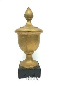 Antique 9.5 Cast Iron Finial fence newel post steam engine coffee grinder stove