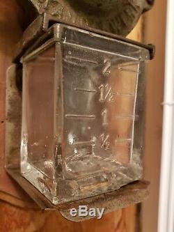 Antique ALEXANDERWERK Wall Mount no. 03 COFFEE GRINDER Mill Cast Iron Vtg a10