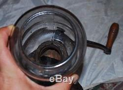 Antique ARCADE CRYSTAL 25 COFFEE MILL / GRINDER