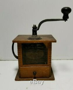 Antique Arcade 999 Coffee Grinder Mill