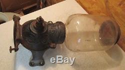 Antique Arcade Crystal No. 1 Coffee Grinder Parts