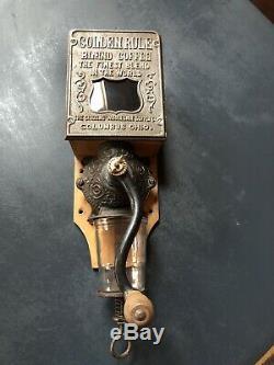 Antique Arcade Golden Rule Coffee Grinder