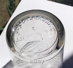 Antique Arcade Number 3 Coffee Grinder Original Glass Catch Cup