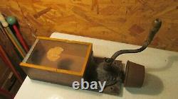 Antique Arcade X-Ray Coffee Grinder