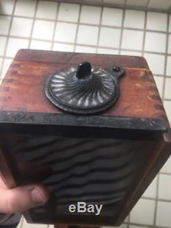 Antique Arcade X-Ray Coffee Grinder Wall Mount