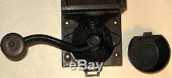 Antique Arcade X-Ray Wall Mount Coffee Mill No. 1 Grinder Complete