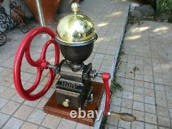 Antique Beautiful Rare Peugeot Freres C1 Coffee Grinder Mill Moulin Molinillo