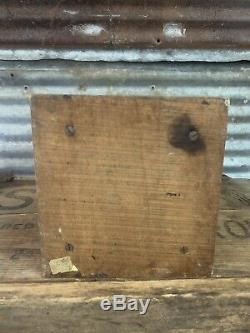 Antique Bronson-Walton Co Cleveland Ohio Tin Litho None Such Coffee Grinder Mill