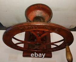 Antique C. S. Bell Co. Model No. 2 Coffee Grinder