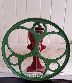 Antique C1880 C S Bell Bench Mount Coffee Mill/Grinder, Commercial General store