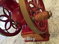 Antique COFFEE GRINDER MILL House of Webster Rogers Arkansas USA EC