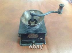 Antique Cast Iron Coffee Grinder No2 by A. Kenrick & Son C 1890