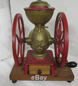 Antique Cast Iron Enterprise Coffee Grinder #5