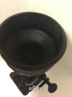 Antique Cast Iron Hand Crank Grain Corn Coffee Grist Mill Vintage Black Grinder