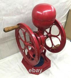 Antique Cast Iron Star Mill Coffee Grinder #7