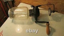 Antique Cast Iron Wardway Coffee Grinder