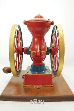 Antique Charles Parker 200 Coffee Grinder Mill 1897 Working Condition Rare Mill