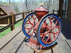 Antique Charles Parker 3000 Coffee Grinder Mill. All Original