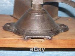Antique Charles Parker (Best Quality) Post Coffee Grinder/Mill Early Design