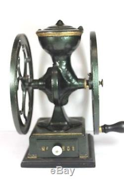 Antique Charles Parker Co. Meriden Conn. U. S. A. No. 502 Coffee Grinder