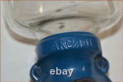 Antique Coffee Grinder Arcade #25 Glass Jar Iron U. S. A. Nice Example