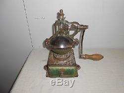 Antique Coffee Grinder By Peugeot Freres