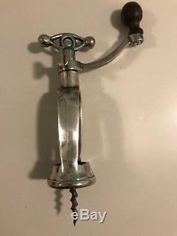 Antique Coffee Grinder Corkscrew