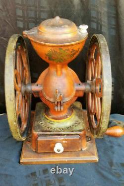 Antique Coffee Grinder Enterprise MFG. Co. Philadelphia PA