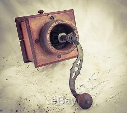 Antique Coffee Grinder MILL Moulin Cafe Molinillo caffe Kaffeemuehle rare