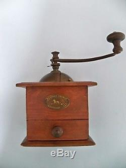 Antique Coffee Grinder Peugeot Freres Valentigney Doubs Modele Depose