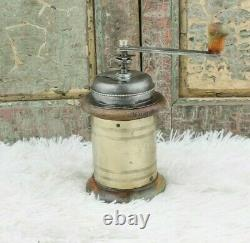 Antique Coffee Grinder Round Mill Moulin Cafe Molinillo caffe Kaffeemuehle