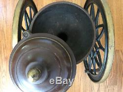 Antique Coffee Grinder SWIFT MILL 14 Cast Iron Lane Brothers Poughkeepsie NY