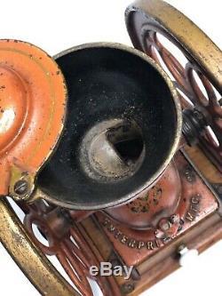 Antique Coffee Mill Grinder Enterprise #2