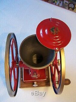 Antique Coles #2 Coffee Grinder Mill. Fully Restored & Extremely Rare
