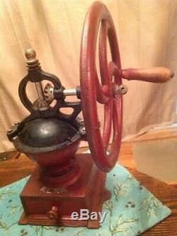 Antique ELMA SPANISH Coffee Grinder Mill