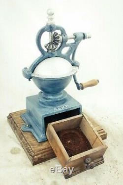 Antique ELMA SPANISH Coffee Grinder Mill Moulin Molinillo cafe Macinacaffe