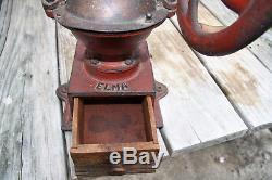 Antique ELMA coffee grinder mill