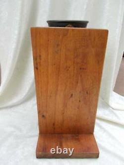 Antique ENTERPRISE COFFEE GRINDER withoriginal catch cup No 00 counter or wall