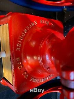 Antique ENTERPRISE Coffee Grinder Mill 1873 Excellent Working Condition Restored