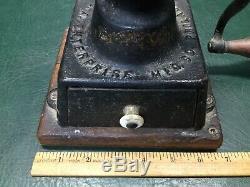 Antique ENTERPRISE Mfg. Co. No. 1 Coffee Mill Grinder Cast Iron Philadelphia USA