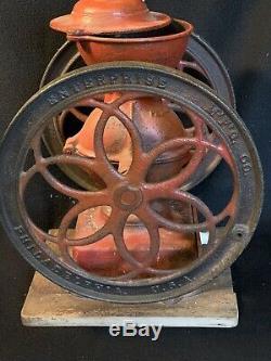 Antique ENTERPRISE No 3 Coffee Grinder Mill 1873 Working Condition